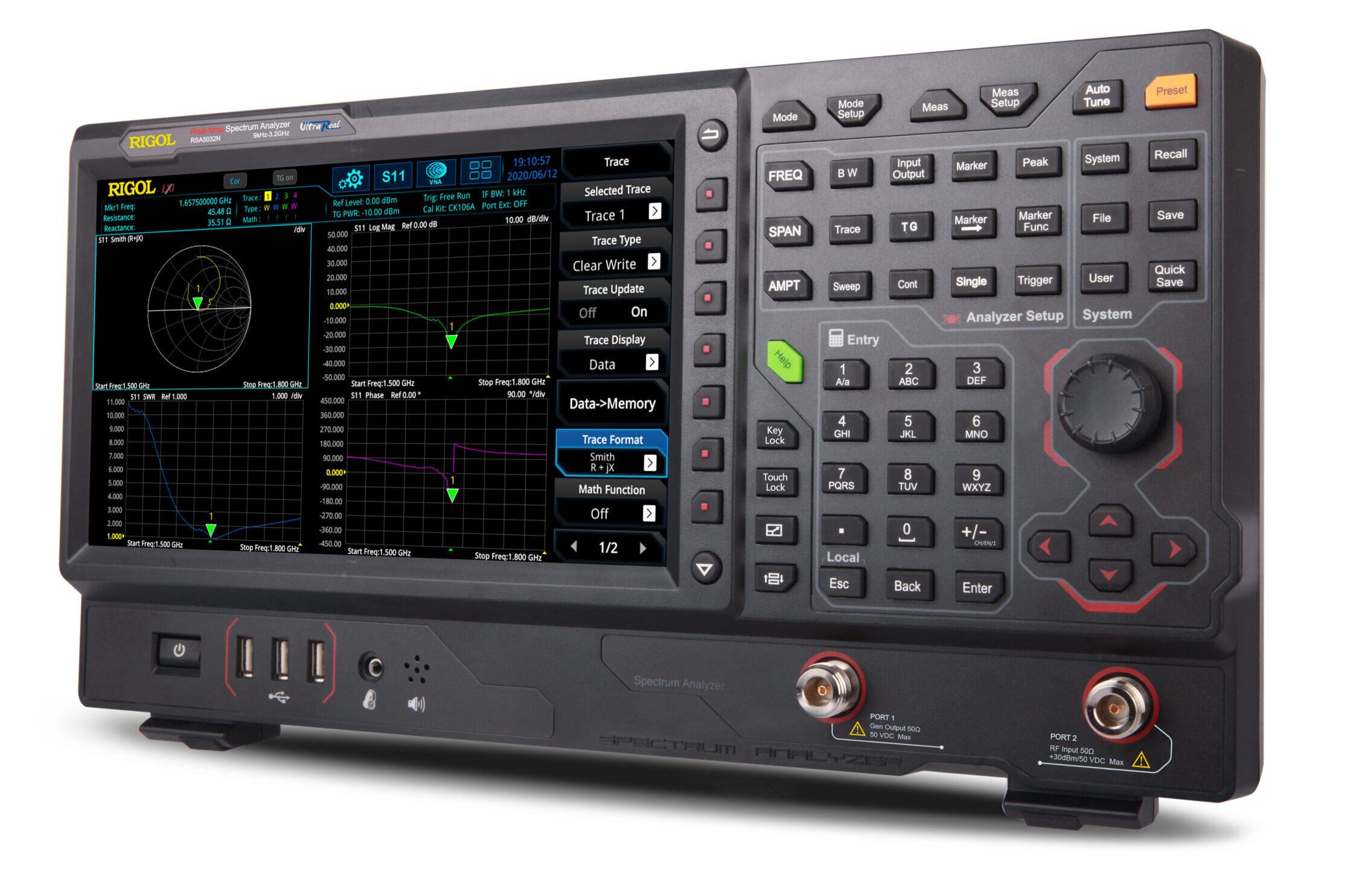 Rigol RSA3000N/5000N Real Time Spectrum Analyzers with Vector Network Analysis
