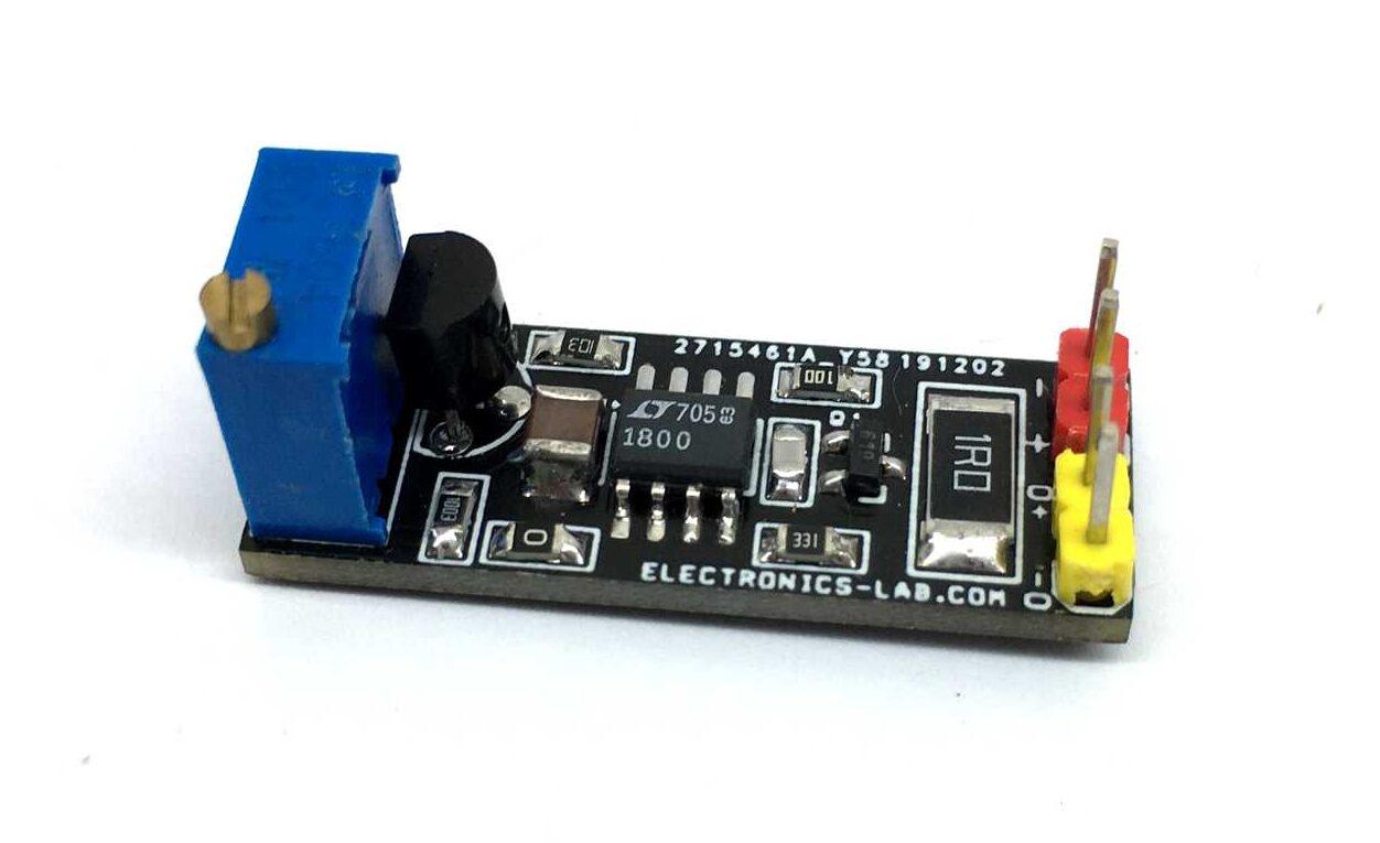 Adjustable Constant Current LASER Diode/LED driver