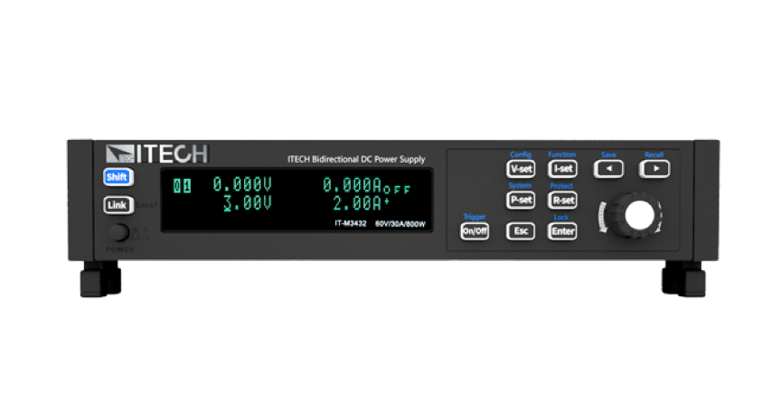IT-M3400 bidirectional power supply – world's smallest programmable bidirectional DC power supply