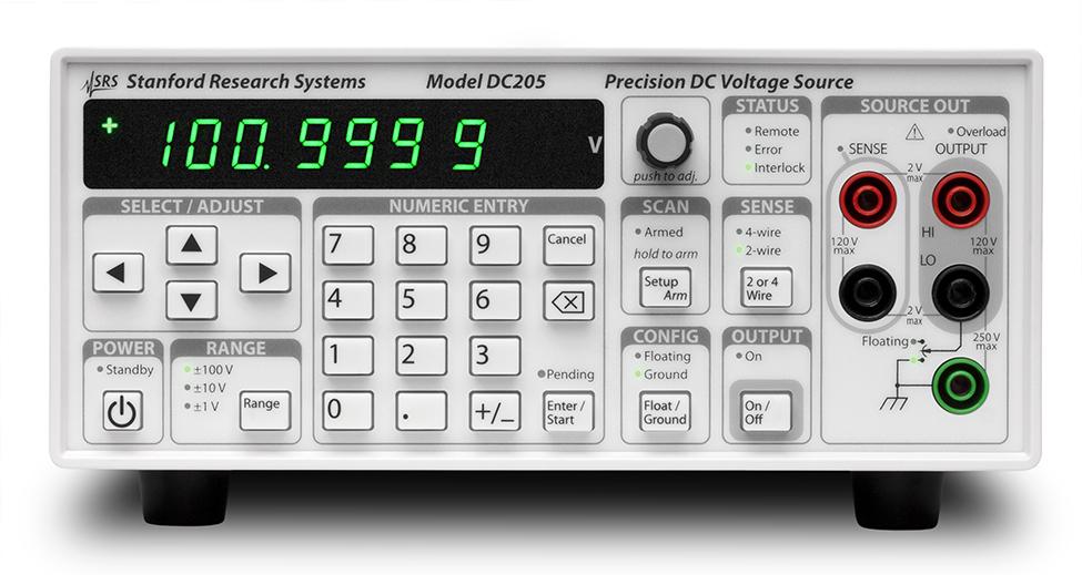 DC205 – Precision DC voltage source