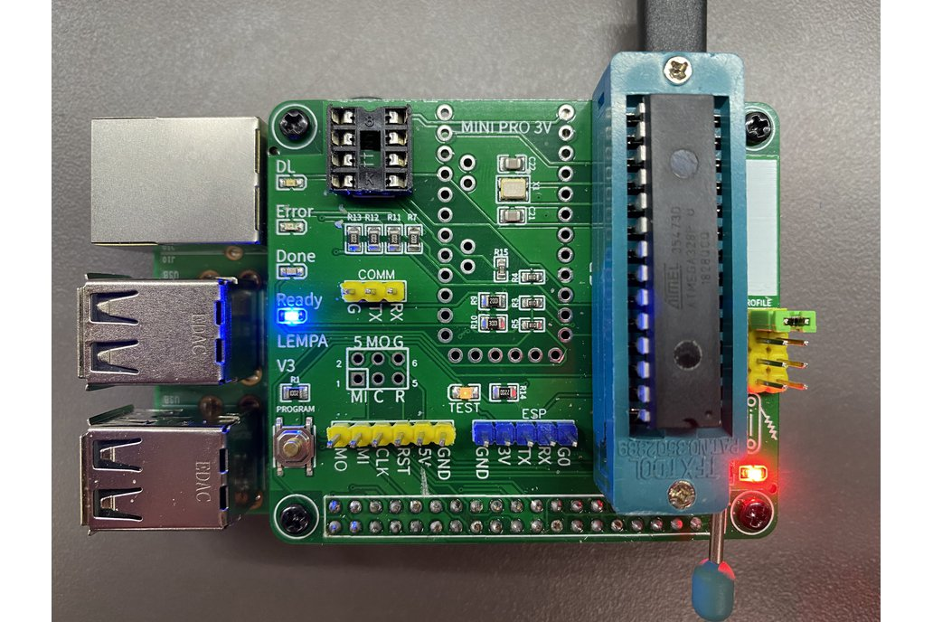 Turn Your Raspberry Pi Into a Standalone AVR/ESP Programmer with LEMPA