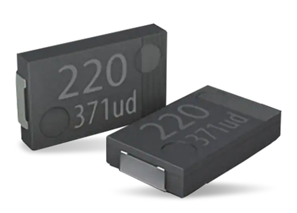 Panasonic introduces polymer tantalum solid capacitors