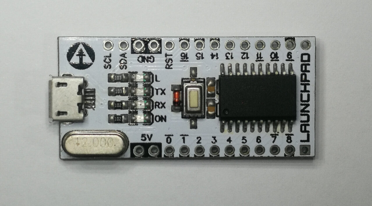 Launchpad Launches as a Cheap Arduino Nano alternative