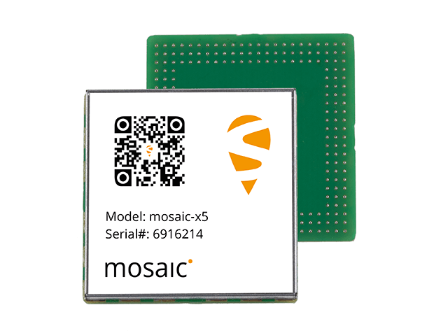 mosaic-X5™ GNSS Receiver Module can track all GNSS constellations