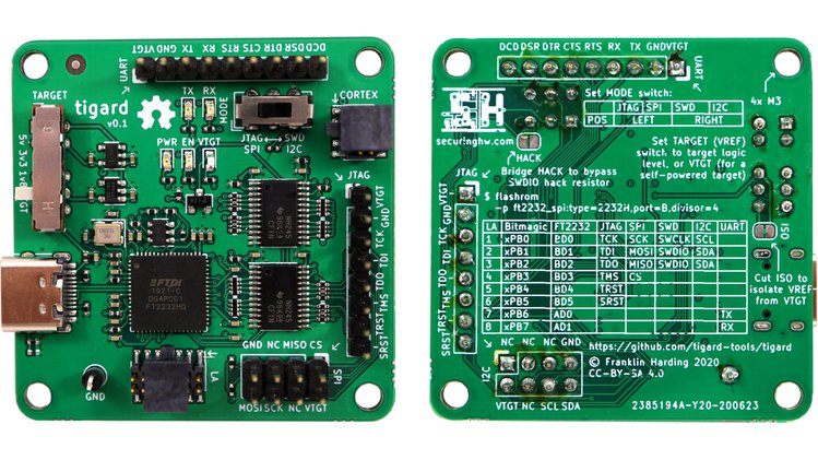 Meet the Tigard Board; A new FT2232H-Based USB Serial Adapter/Debuggers