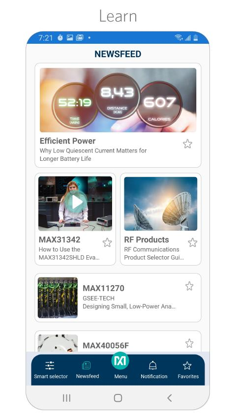 Maxim Integrated launches smartphone app for fast Access to its essential analog IC resources