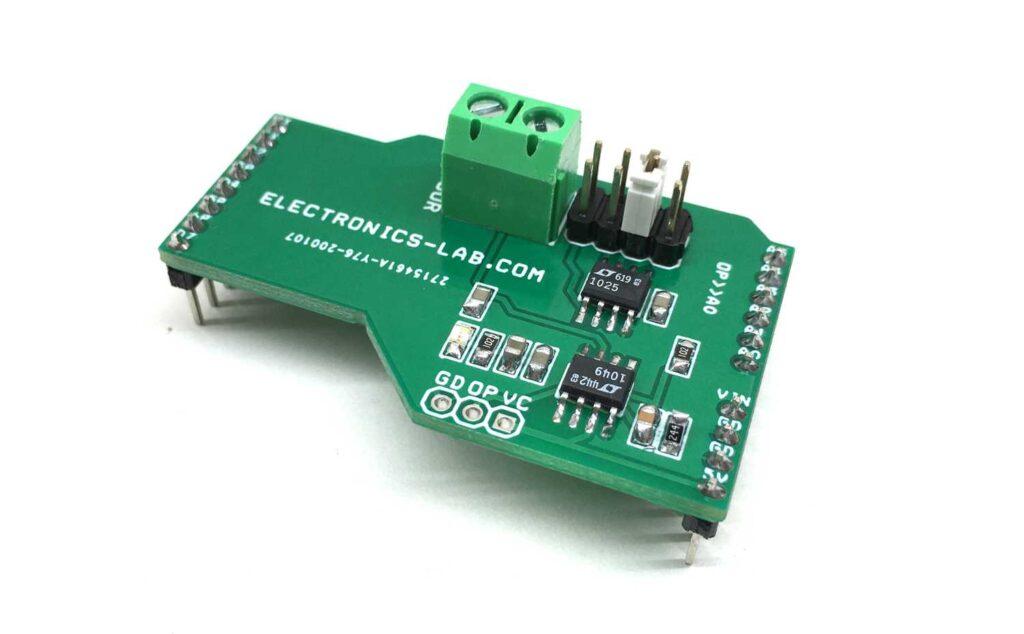 Type K Thermocouple Sensor Amplifier Arduino Shield