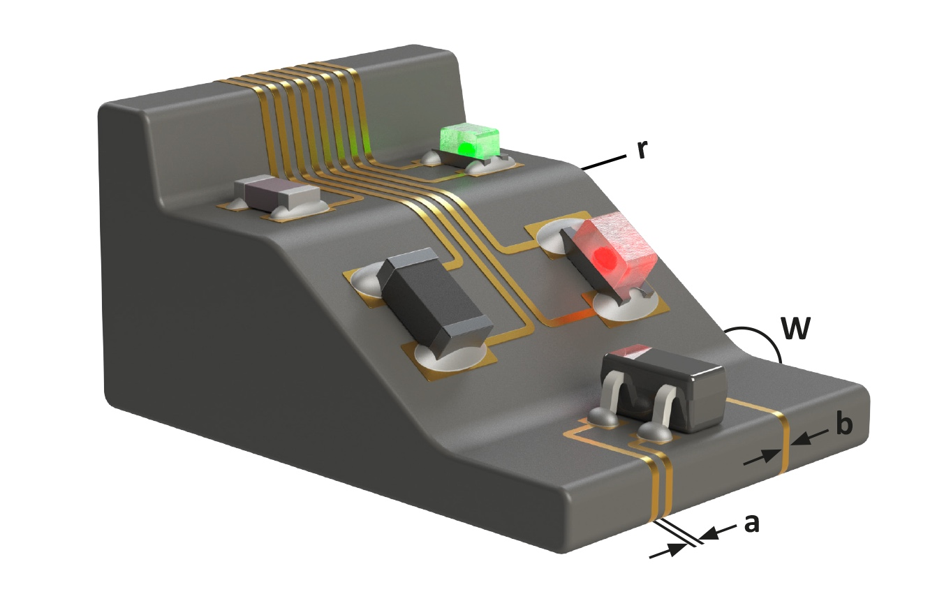 Electronic assemblies without PCBs but with Laser direct structuring