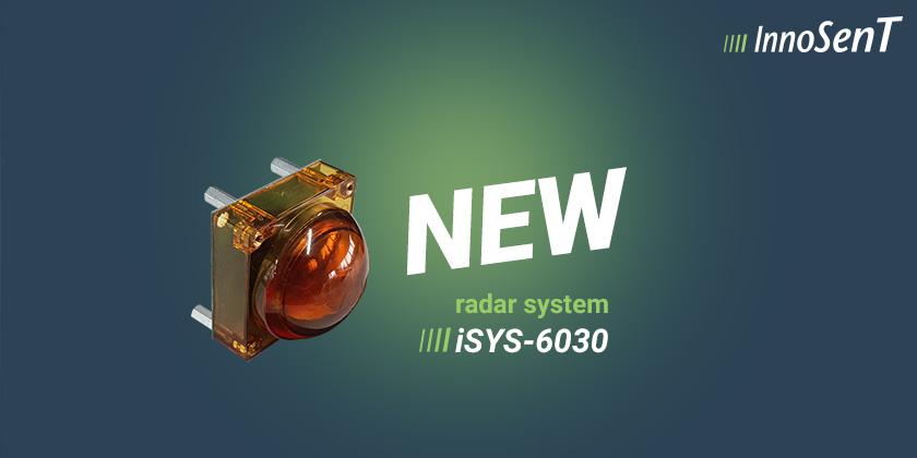 iSYS-6030 60 GHz Radar System