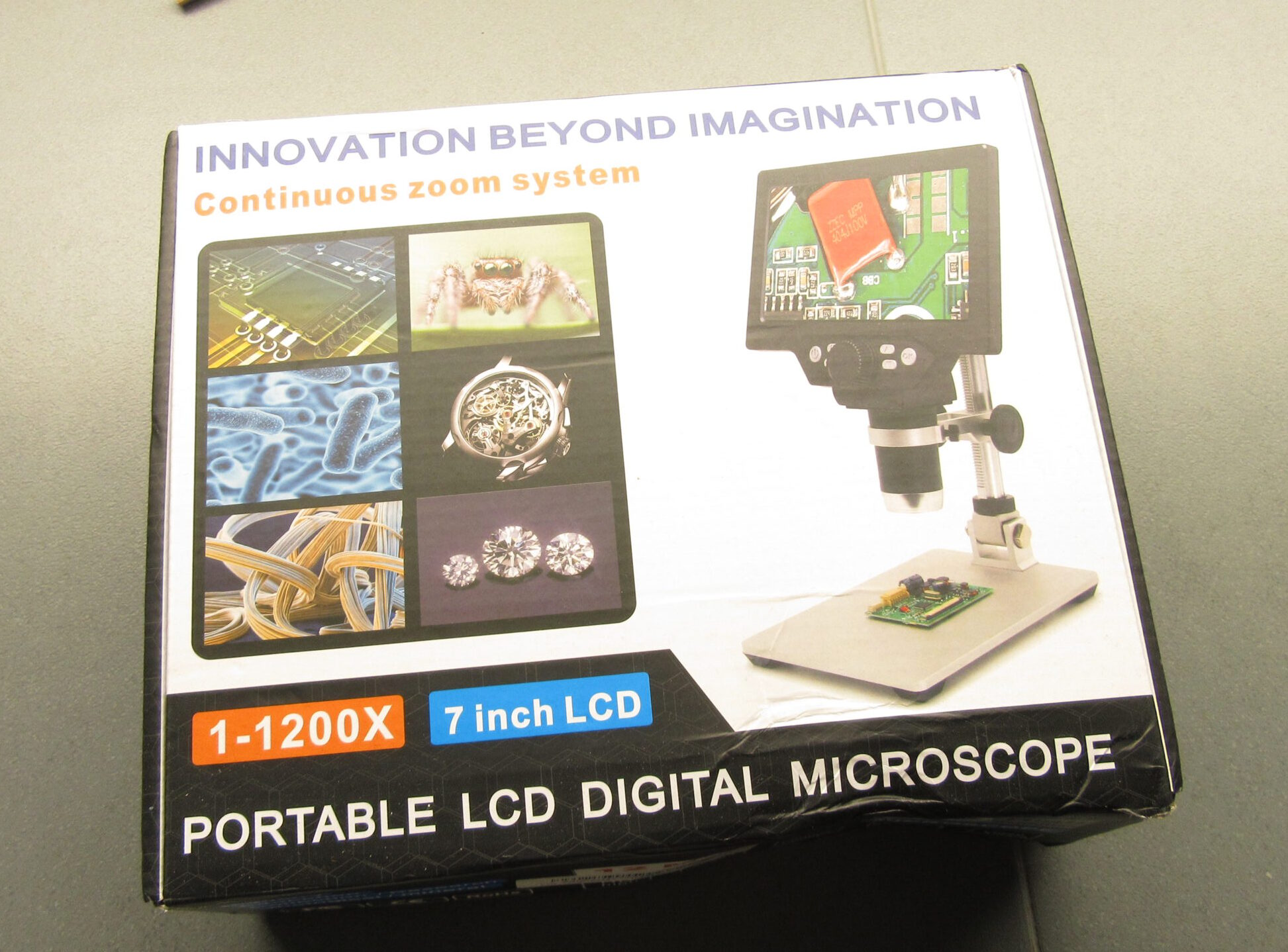 MUSTOOL G1200 Microscope Quick Review