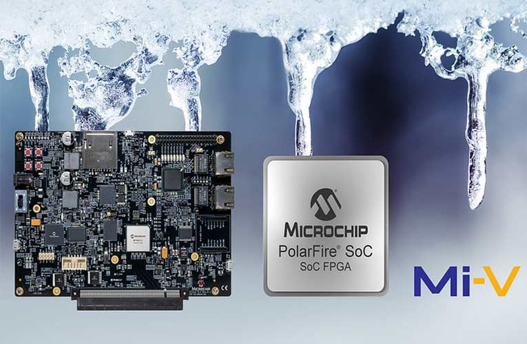 RISC-V-based System-on-Chip (SoC) FPGA Development Kit from Microchip for PolarFire SoC