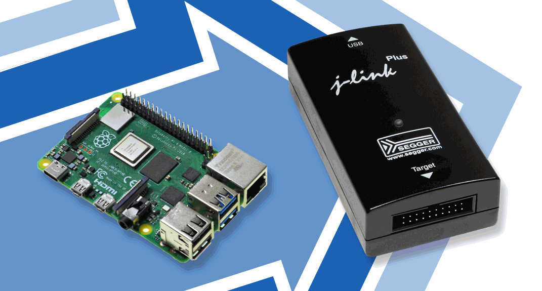 SEGGER J-Link adds support for Raspberry Pi as host