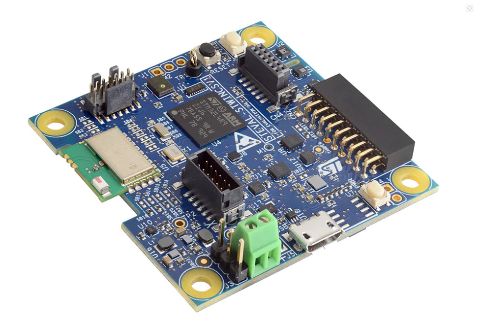 STWIN SensorTile Wireless Industrial Node development kit and reference design for industrial IoT applications