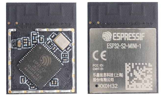 Espressif Announces two New ESP32-S2 MINI modules