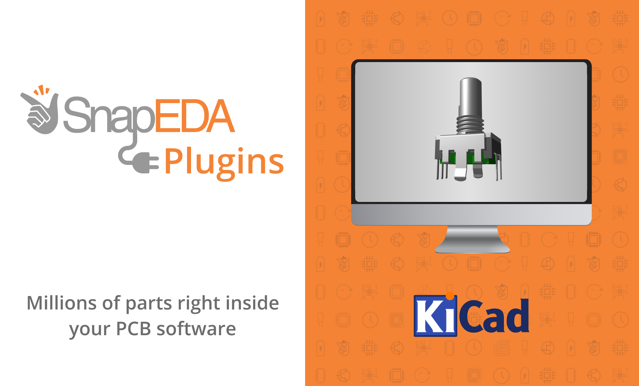 SnapEDA launches new KiCad plugin to help engineers design electronics faster