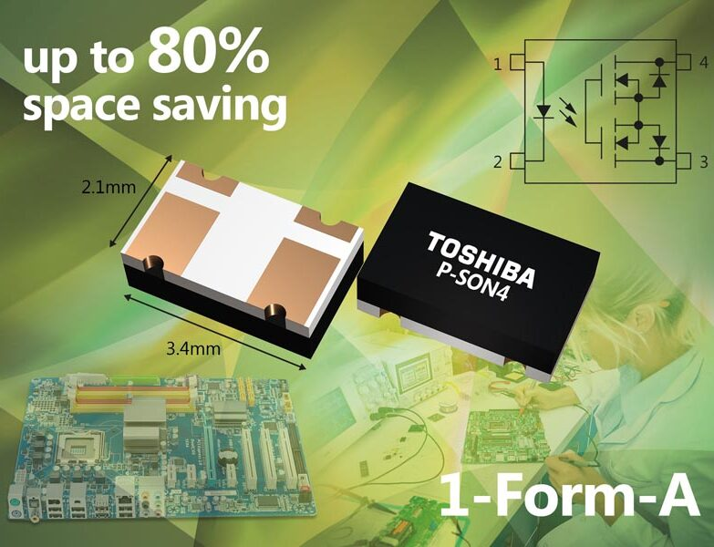 Toshiba Introduces new Compact-Sized Photorelay Devices