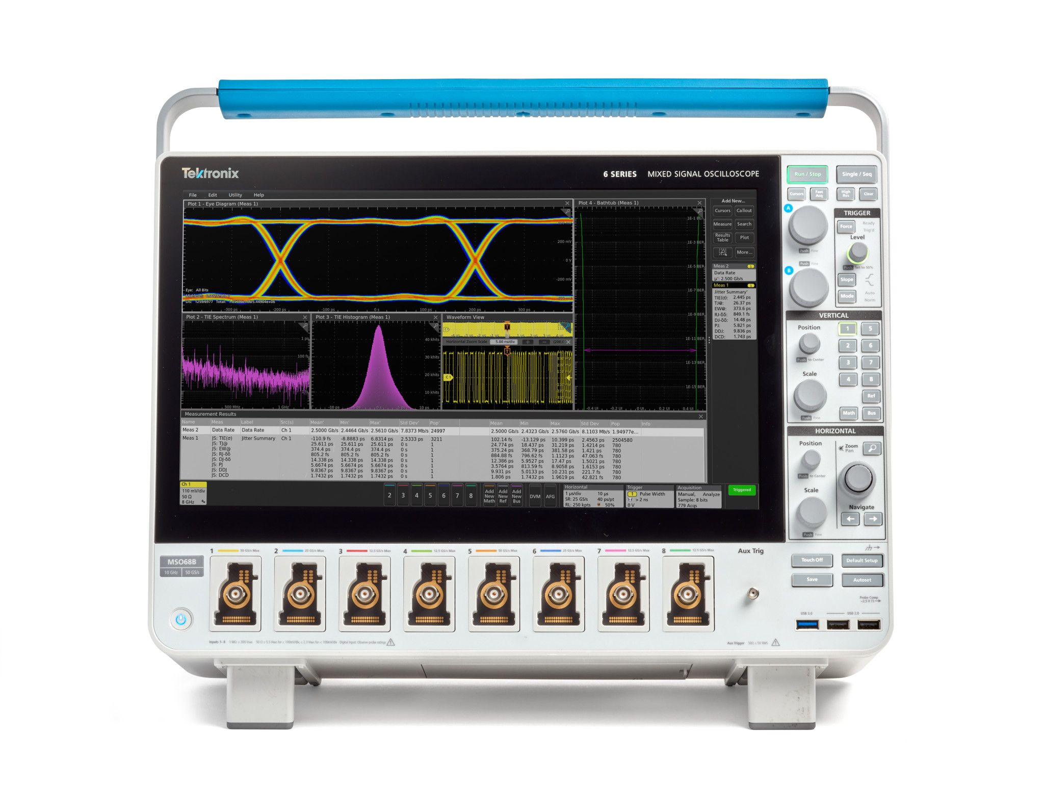 Tektronix Delivers Industry's First 10 GHz Oscilloscope with 4, 6 or 8 Channels