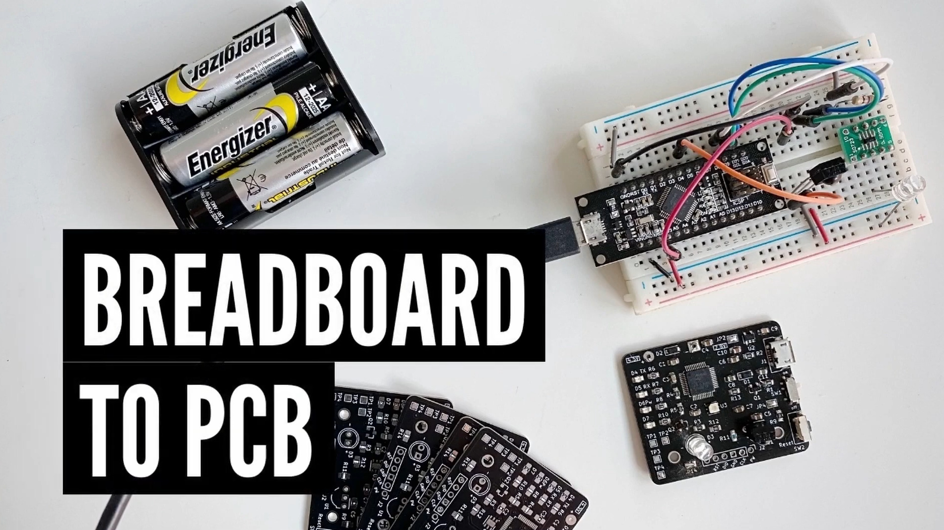 Design considerations for transferring a breadboard prototype to custom PCB