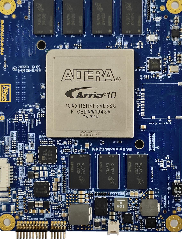 High-end FPGA SOM based on Arria 10 GX FPGA