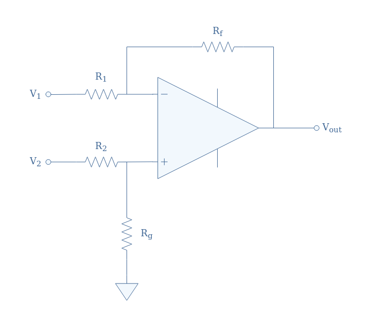 The Differential OPAMP Amplifier