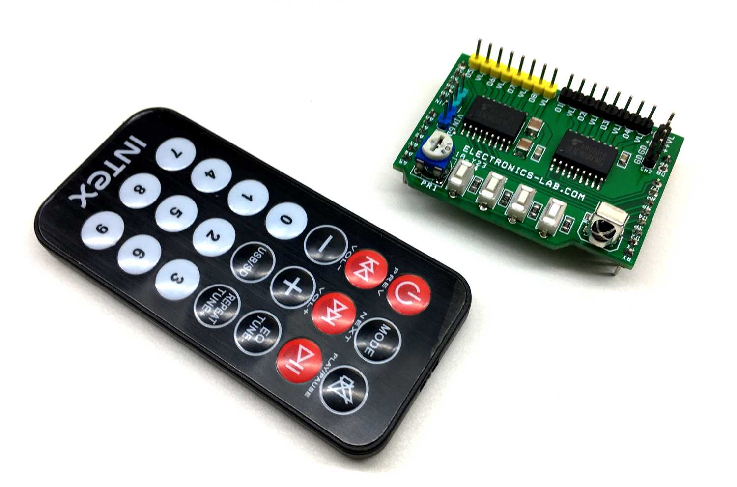 8 Channel Infra-Red Remote-Control Arduino Shield Using ULN2803