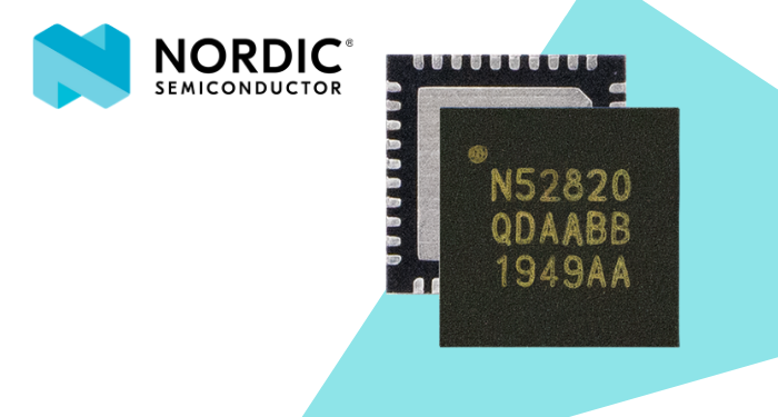 Nordic Semiconductor's nRF52820 Multi-protocol SoC combines Bluetooth 5.2 with USB 2.0