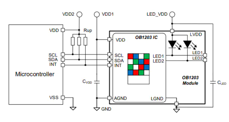 All you need is 3 resistors and 2 capacitors to unleash the potential of the OB1203