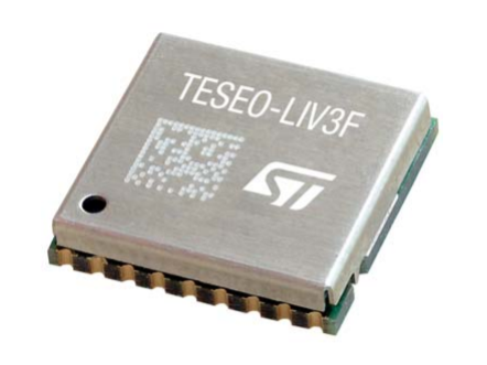 Teseo-LIV3F GNSS Prototyping Solution by ST