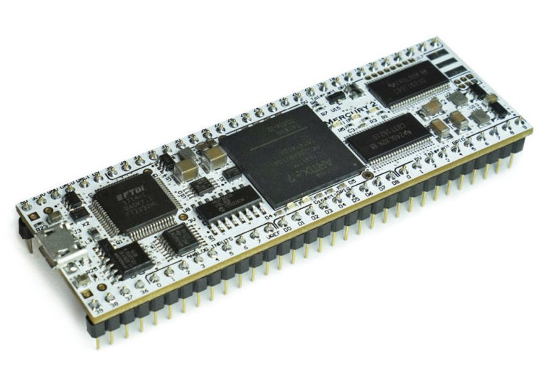 Mercury 2 – Breadboard-Friendly FPGA development board