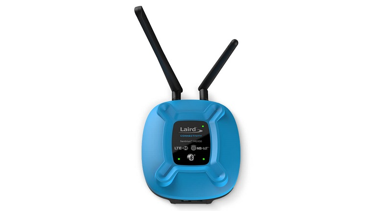 Laird Sentrius™ MG100 micro-gateway with LTE-M/NB-IoT and Bluetooth 5