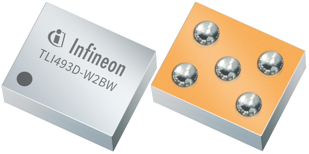 XENSIV™ TLI493D-W2BW 3D Magnetic Sensor