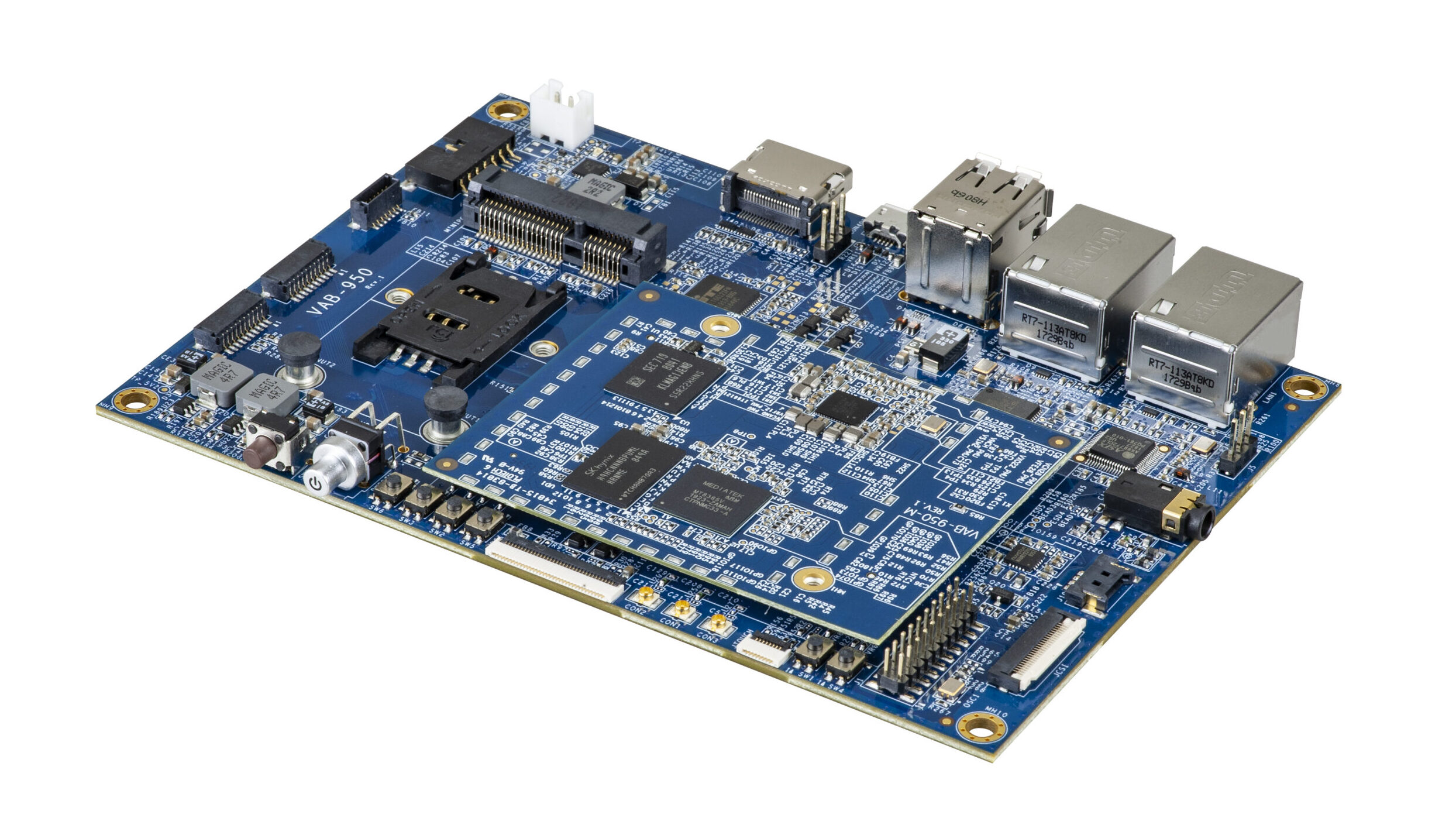 VIA Launches VIA VAB-950 Board Powered by MediaTek i500 AIoT Platform