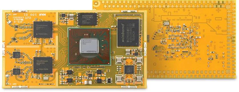 Mango-DVK features WiFi 6, 2.5GbE SoM based on IPQ6000/IPQ6010 from Qualcomm