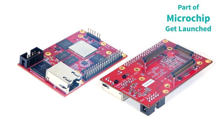 PolarBerry – A secure PolarFire SoC (FPGA + RISC-V) Linux-capable SBC and SoM