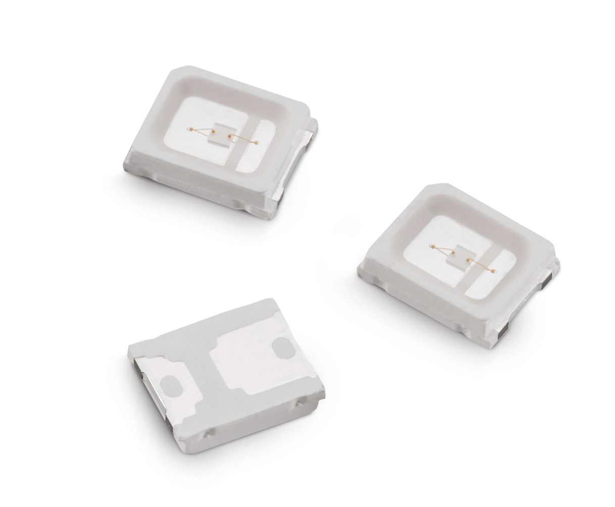 New WL-SMTW Series LEDs Emit Light of Wavelengths 450, 660 and 730 nm