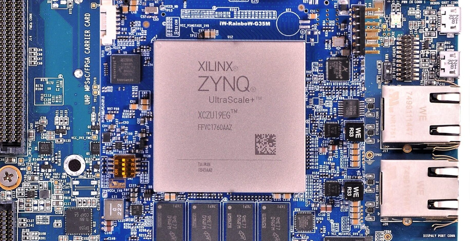 Enabling 4K Ultra HD Capabilities Through iWave's Zynq Ultrascale+ MPSoC Platform
