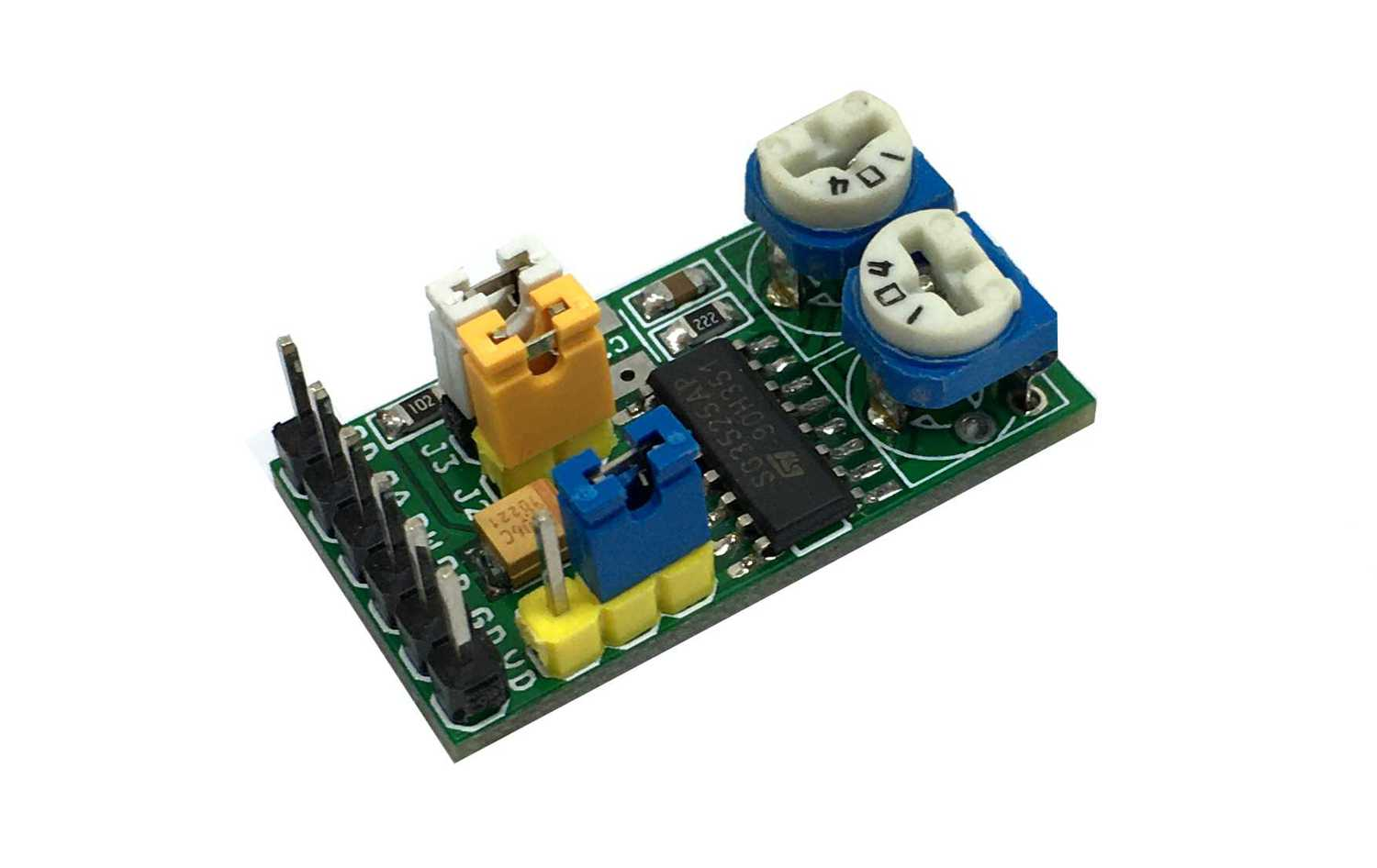 PWM Module with Dual Source/Sink Outputs using SG3525