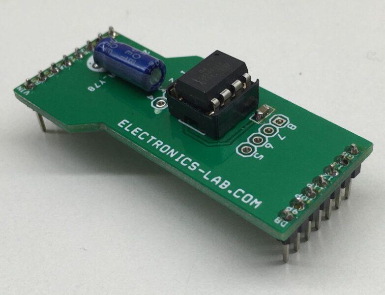 Attiny85 8-pin Arduino Programming Shield