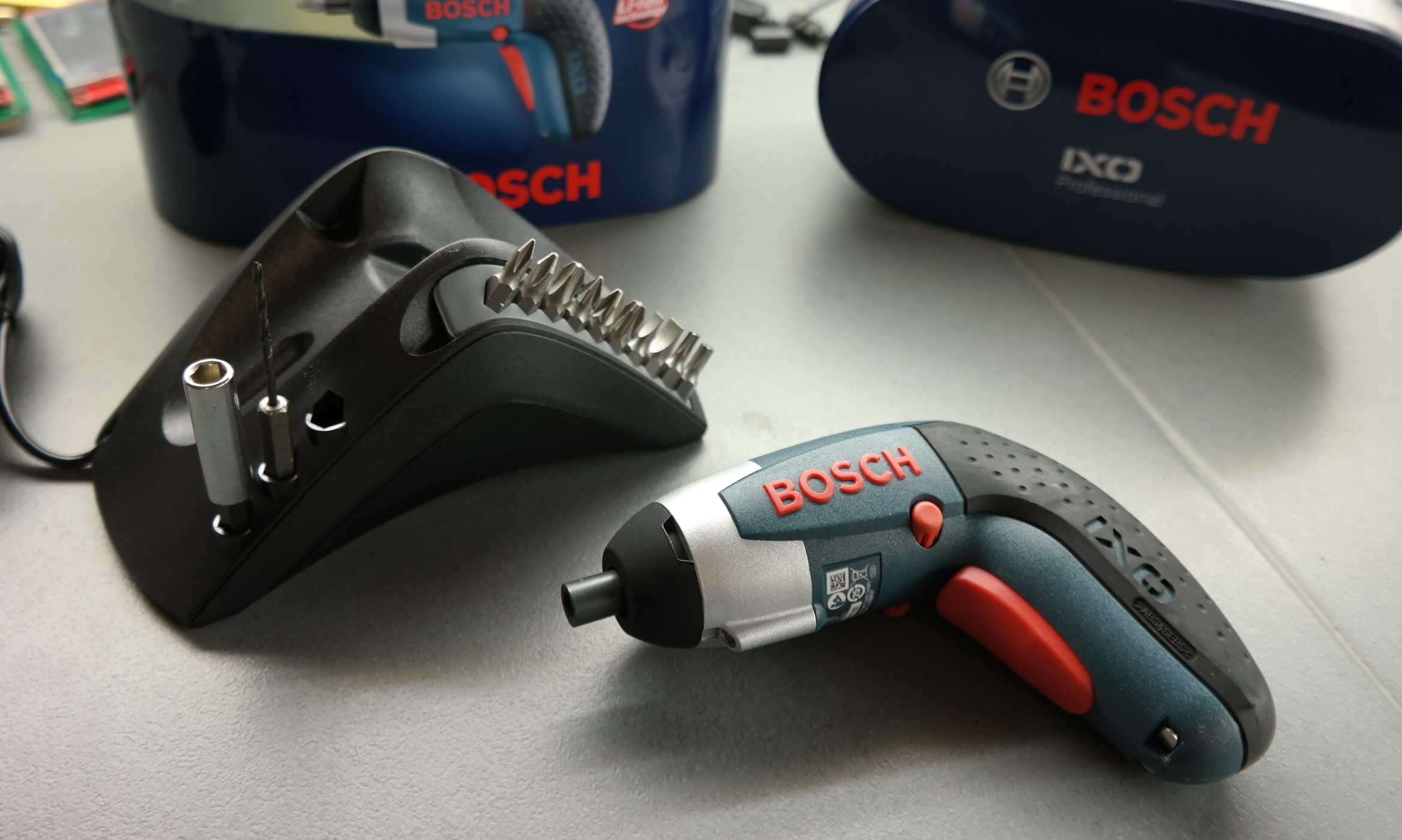 Bosch IXO 3 screwdriver offers high efficiency and performance