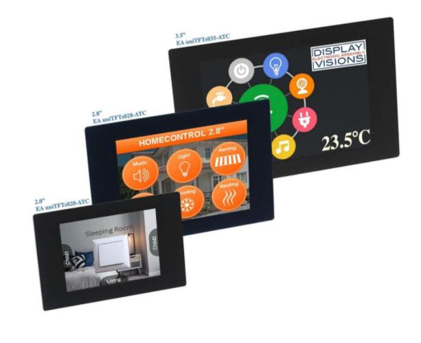 User-friendly smart displays in miniature size