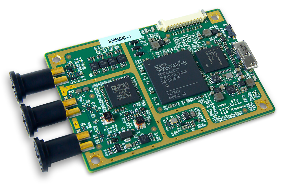 USRP B205mini-I Software-defined Radio Platform