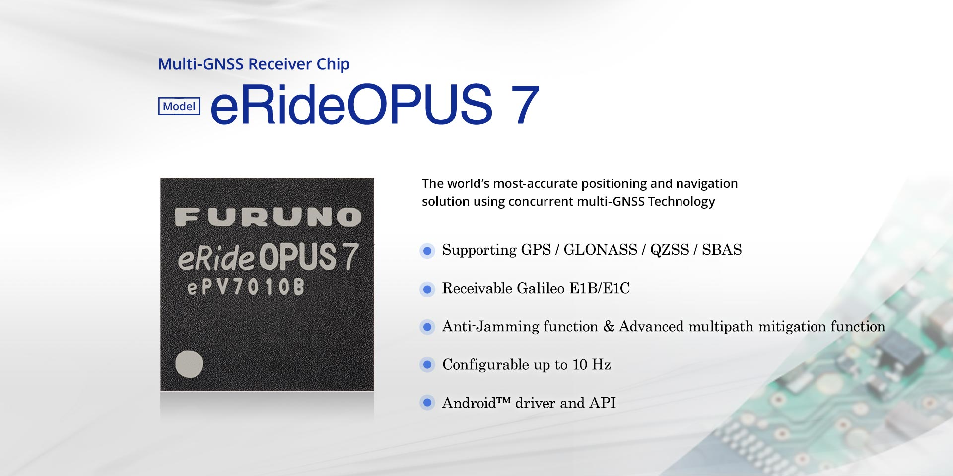 GPS/GNSS eRideOPUS 7 Modules