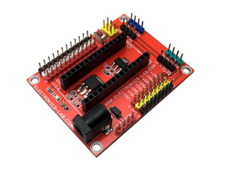 Expansion Shield – Breakout Board for Arduino Nano
