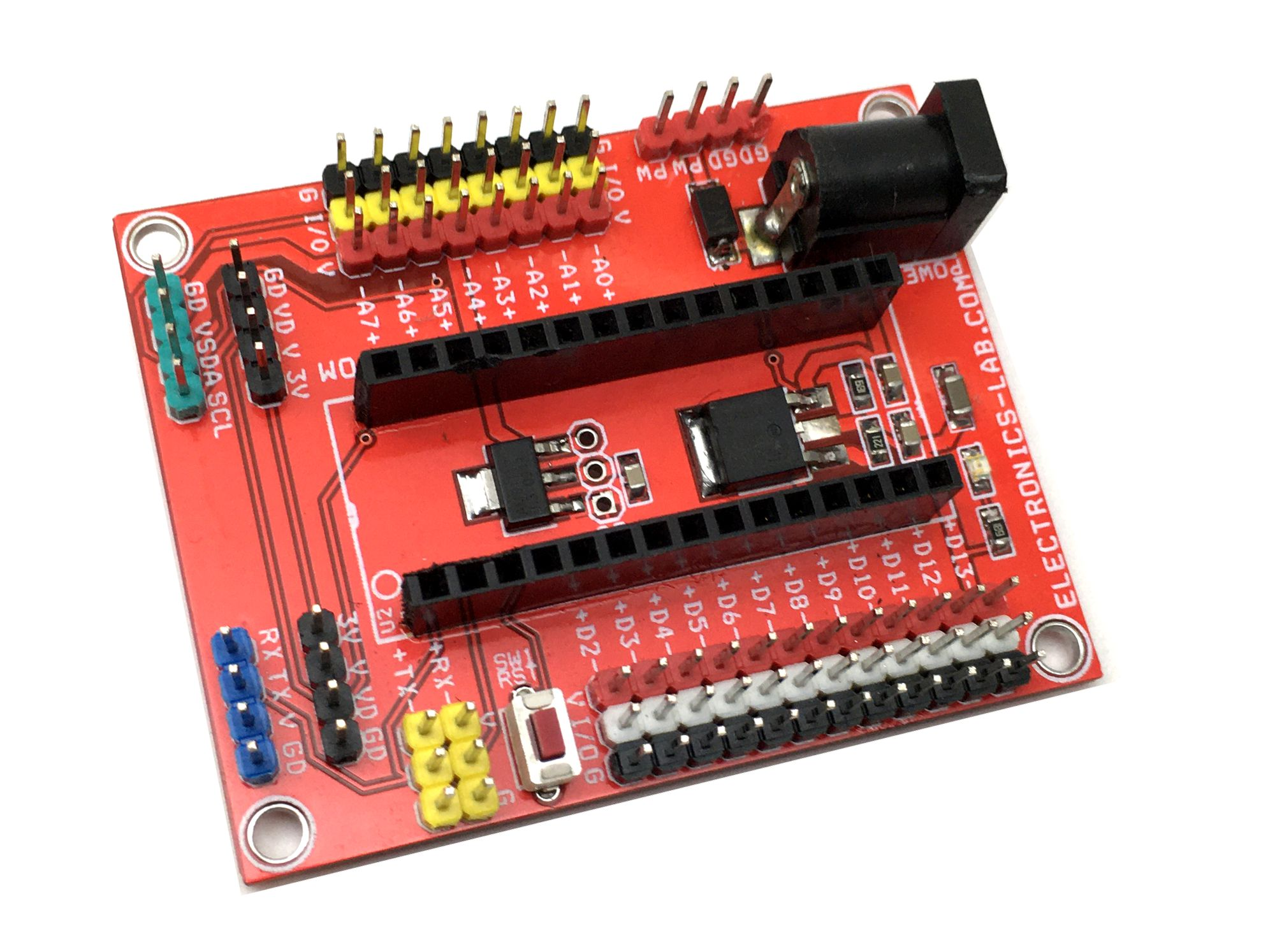 Expansion Shield – Breakout Board for Arduino Nano