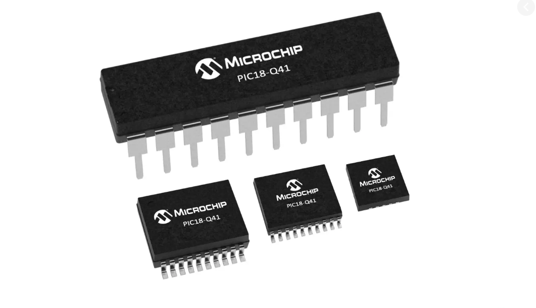 PIC18F-Q41 Sensor Interface Microcontrollers