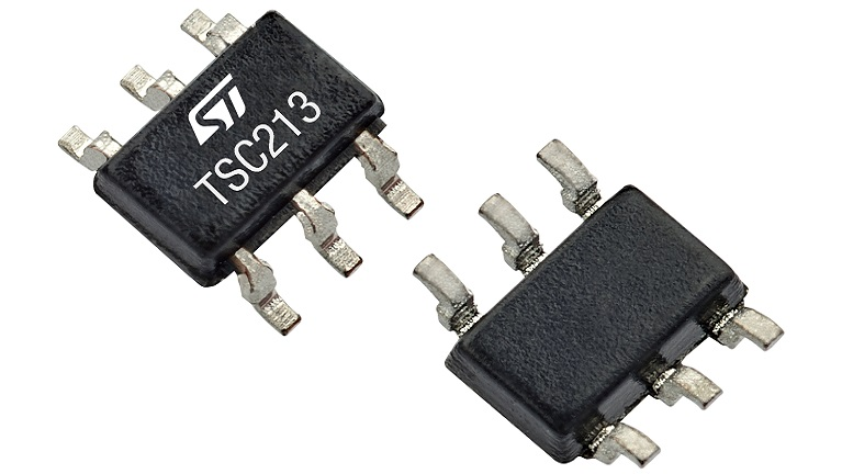 STMicroelectronics TSC213 current sense amplifiers