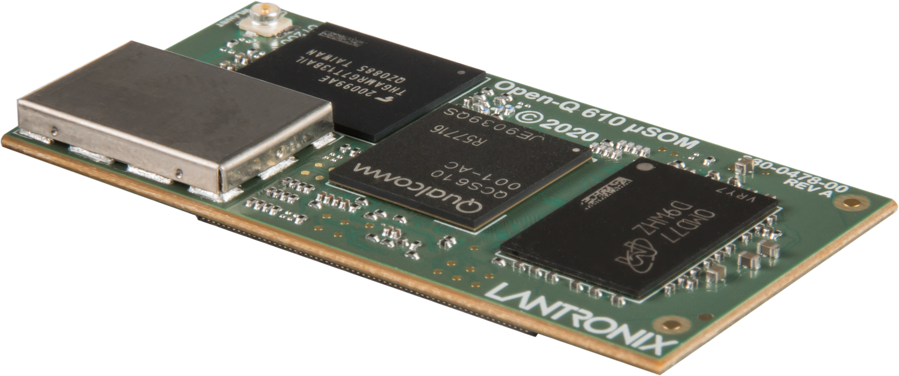 Lantronix Launches Open-Q™ 610 μSOM and Open-Q 610 Development Kit