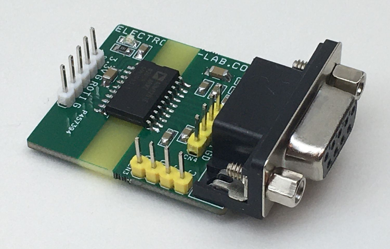 Isolated, Single-Channel RS232 transceiver (Isolated RS232 to UART)