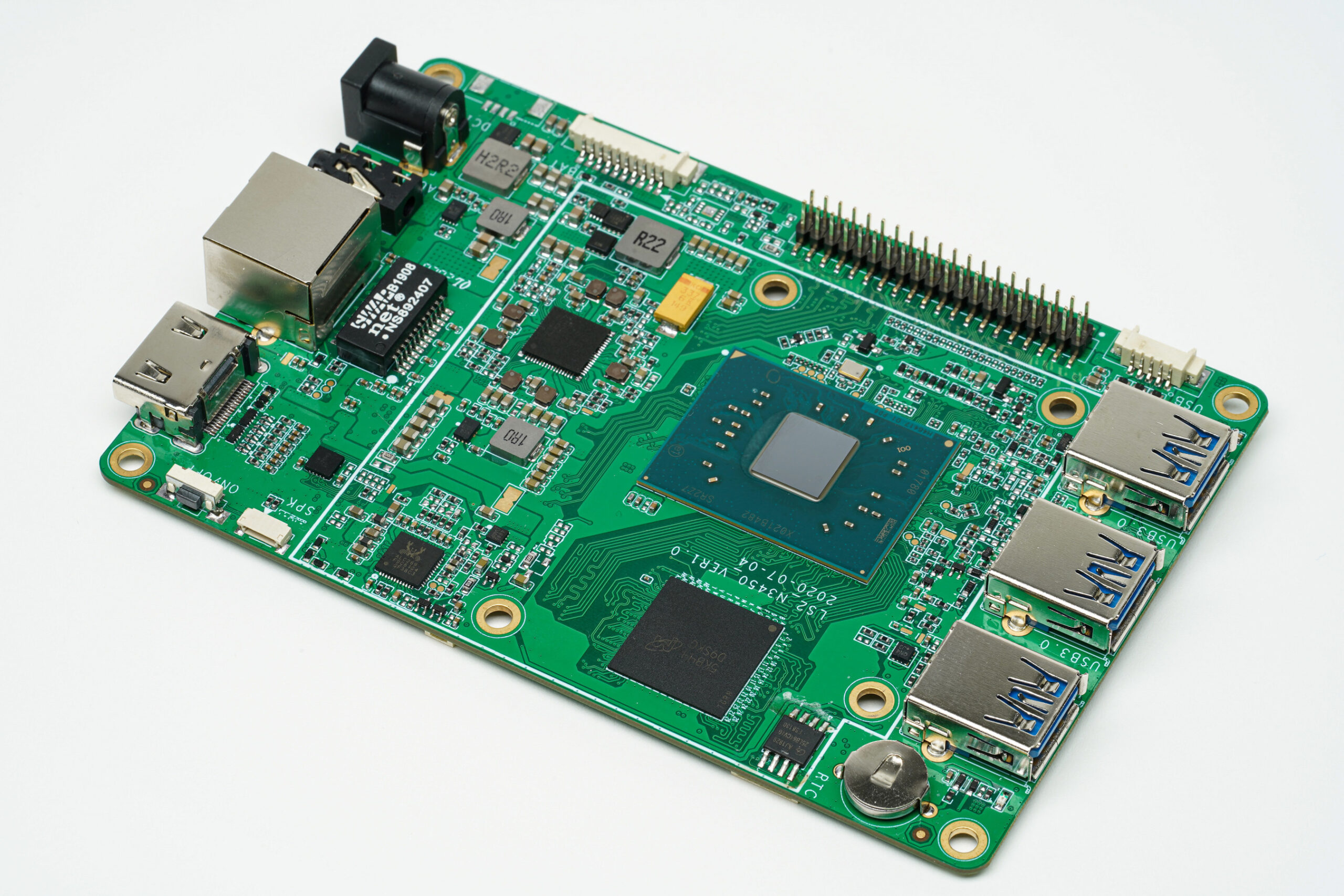 Hackboard 2 Intel Gemini Lake Based SBC Features Windows 10 Pro