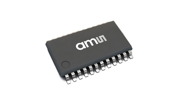 AMS AG AS8579 automotive-grade capacitive sensor
